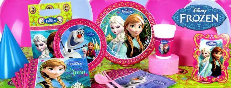 Frozen feest decoratie voor uw Frozen feestje bij Feestwinkel Altijd Feest.