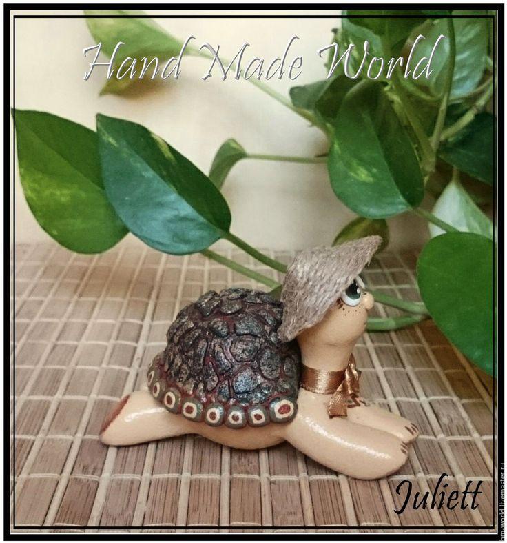 """Купить Мини-шкатулка """"Черепашка"""" - черепашка, черепаха, черепашки, шкатулка, авторская шкатулка, эксклюзивный подарок"""