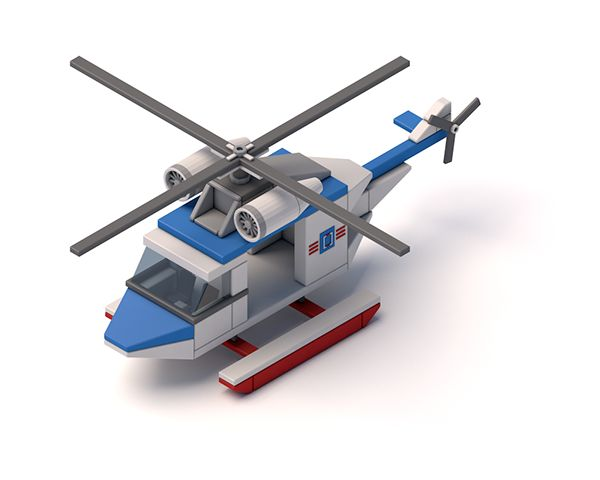 Helicopter on Behance