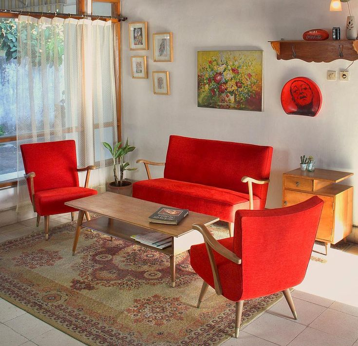 Desain Ruang Tamu Modernvintage