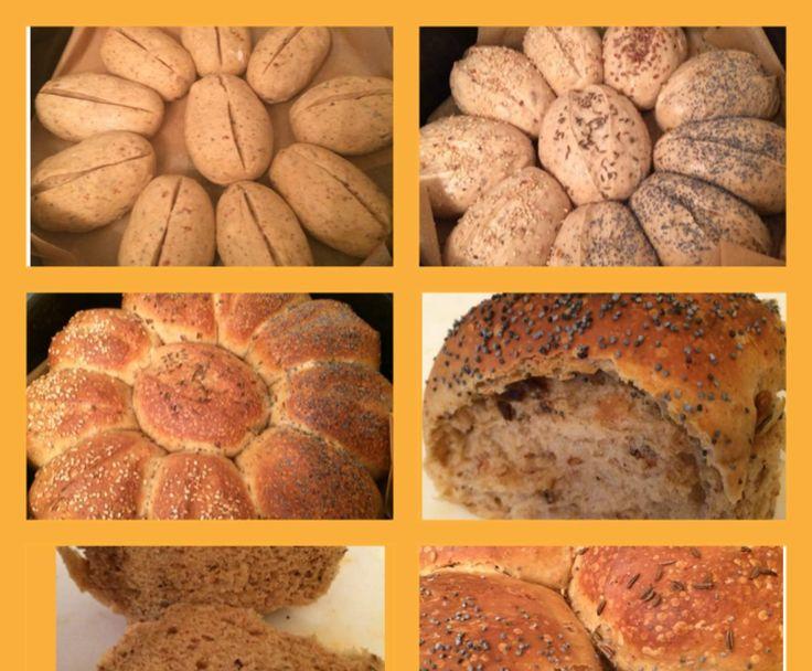 Rezept Frühstücksbrötchen über Nacht von Petra3 - Rezept der Kategorie Brot & Brötchen