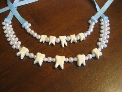 The Tooth Fairy necklace