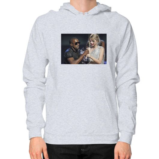 Kanye Taylor Hoodie (on man) Shirt