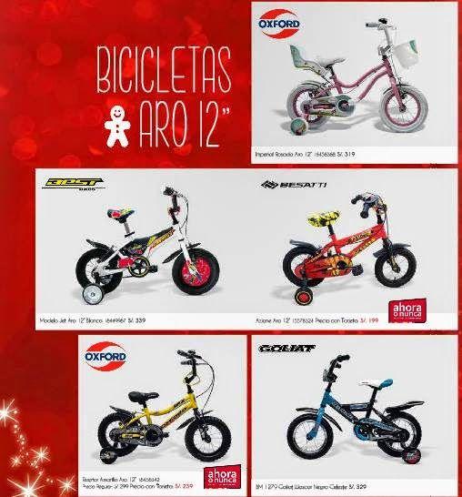 Precios y Ofertas de Bicicletas / Ripley Navidad 2014