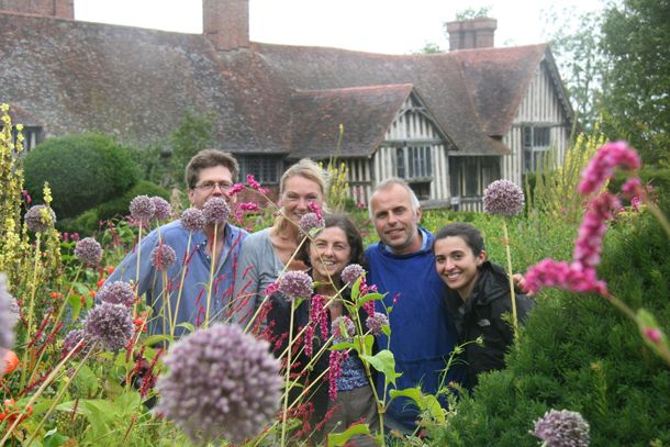 An image of us at @Great Dixter - Photo by @annie guilfoyle   / Creative Landscapes - @KLC School of Design of Design.