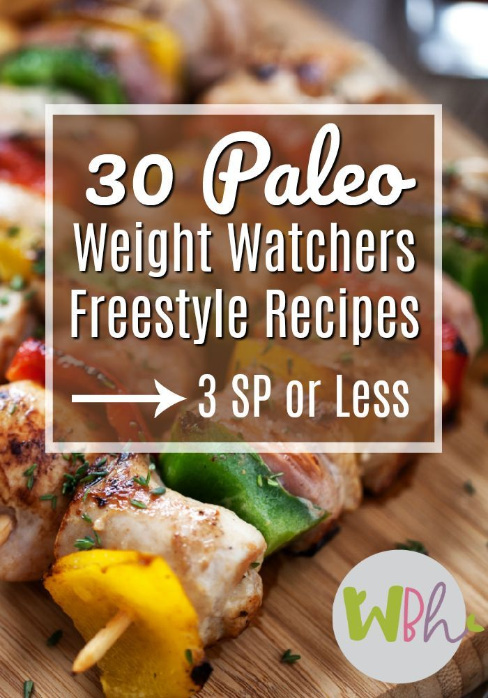 Have you been hoping for a list of Paleo Weight Watchers Freestyle Recipes? I've compiled a list of recipes that meet the criteria of being Paleo and WW Freestyle that are 3 SP or less! #paleo #paleorecipes #weightwatchers #freestylerecipes #WWFreestyle