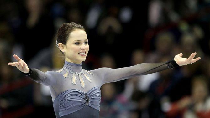 Sasha Cohen On Figure Skating Outfits | StyleCaster