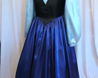 DELUXE Little Mermaid Ariel Pink Gown Costume Adult by mom2rtk