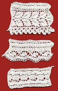 Vintage 1886 Lace Edging - Free Knitting Pattern