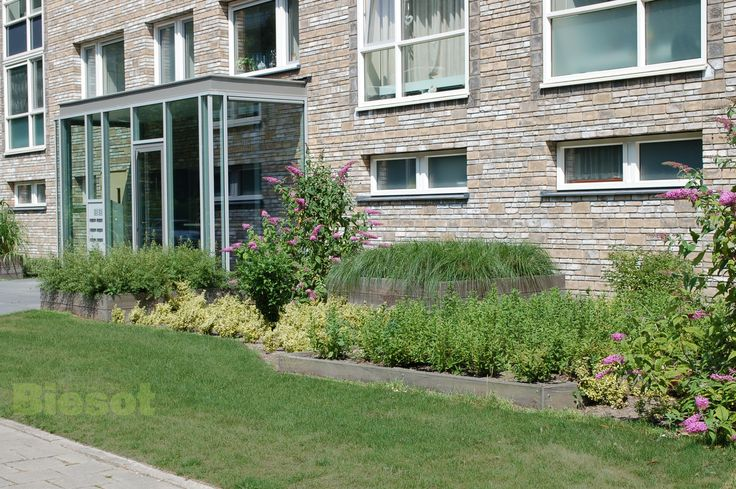 #buitenruimtes #woningbouw #ontwerpenaanleg Nieuwe tuinen Engelandlaan Haarlem Ontwerp en aanleg Biesot Tuinen & Parken
