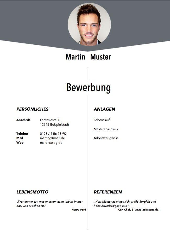 Deckblatt Bewerbung: Tipps und Gratis-Vorlagen http://karrierebibel.de/deckblatt-bewerbung/