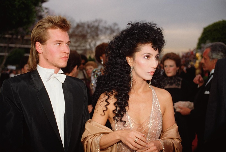 Val Kilmer & Cher  1984