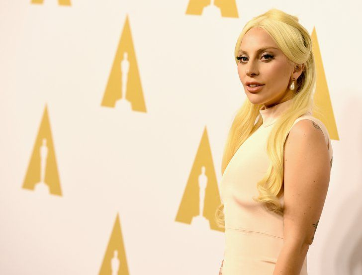 Pin for Later: Lady Gaga Hits the Red Carpet After Causing a Worldwide Frenzy at the Super Bowl  Pictured: Lady GaGa