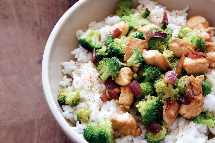 Kijk wat een lekker recept ik heb gevonden op Allerhande! Pittige kip-broccolischotel
