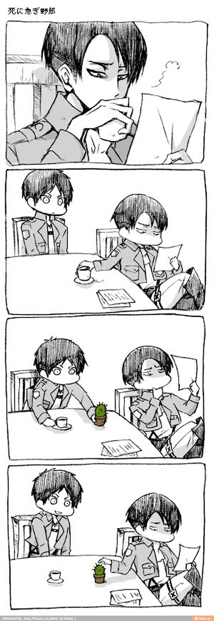 Eren probably ended up with that cactus shoved up his ass.