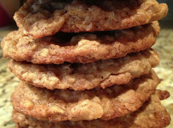 Caramel & Pecan Oatmeal Cookies Instead of coconut, use sea salt on ...