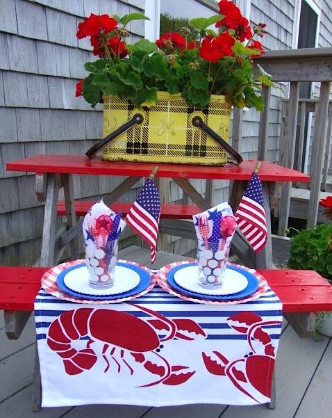 13 best Summer picnic table decor images on Pinterest ...