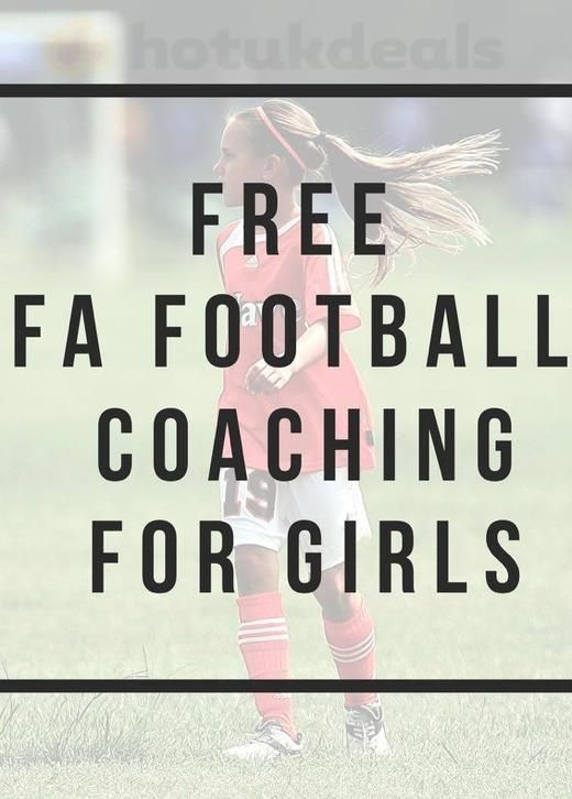FREE FA Football Coaching Sessions for Girls over the School Holidays