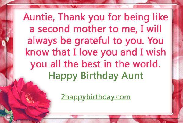 17 Best Quotes For Aunts On Pinterest: 17 Best Ideas About Birthday Wishes For Aunt On Pinterest