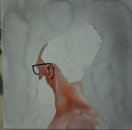 AC26 : Peindre Cheveux et barbe à l'huile