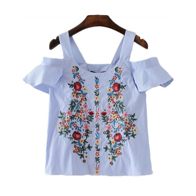 'Zahara' Off Shoulder Floral Top