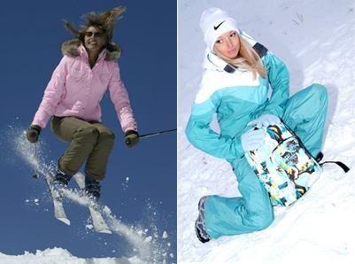 Красивые горнолыжные женские костюмы купить
