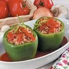 traditional stuffed peppers..: Recipes Dinners, Brown Rice, Fun Recipes, Ground Beef, Stuffed Pepper Recipes, Stuffed Green Peppers, Chilis Peppers, Stuffed Peppers Recipes, Skinny Recipes