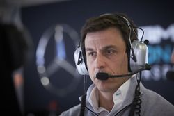 Toto Wolff (b 1972) Austrian investor; born in Austria to Polish and Romanian parents;  speaks fluent English, French, German, Italian, Polish, Spanish; class winning, racing driver, 24 Hours Nürburgring (1994); shareholder Williams F1 (2009), Executive Director Williams F1 (2012); co-owner and Executive Director, Mercedes AMG Petronas Formula One Team (2013)