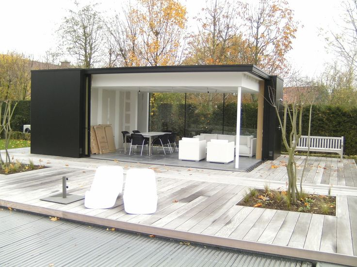 Poolhouse? Kies uit cottage en moderne poolhouses op maat ...