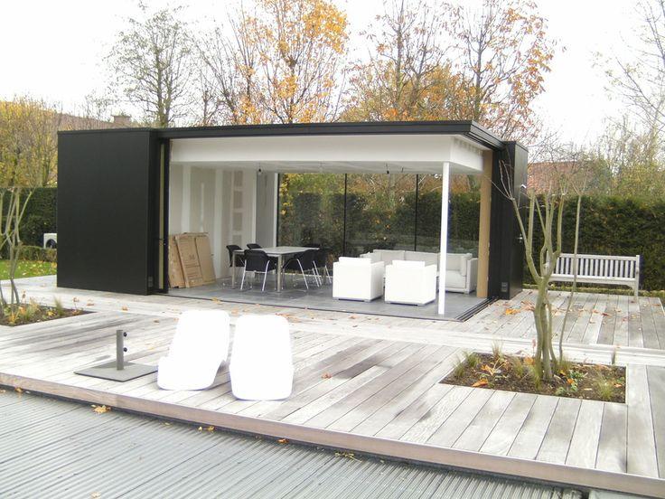 poolhouse kies uit cottage en moderne poolhouses op maat veranclassic tuin pinterest. Black Bedroom Furniture Sets. Home Design Ideas