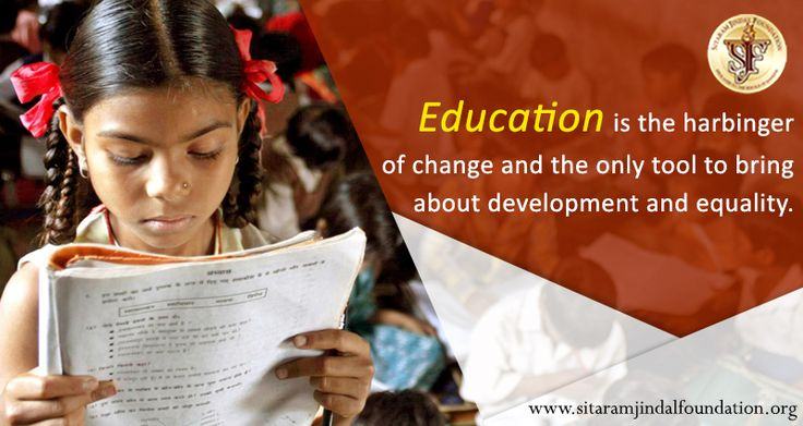 Education is the harbinger of change and the only tool to bring about development and equality. Education is truly the only medium of change and upliftment and it has been our endeavour to bring quality education to the economically weaker sections. The Foundation runs various #charitable #educational #organizations that cater to the education needs of the economically weaker sections of the #society and provide them a chance at progress and betterment.