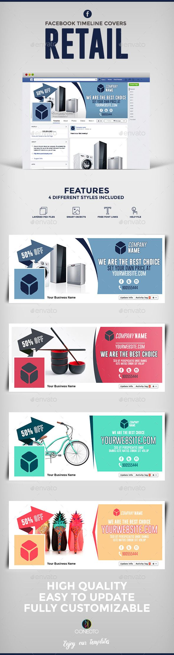 Facebook Timeline Covers Retail Template #design Download: http://graphicriver.net/item/facebook-timeline-covers-retail/12322344?ref=ksioks