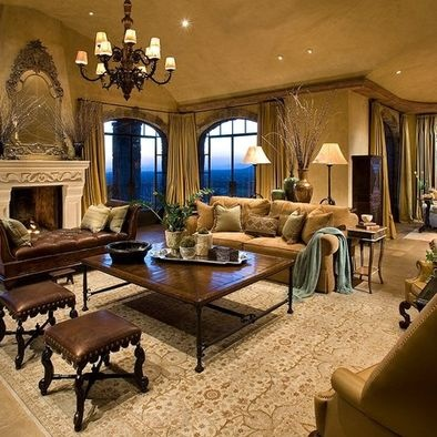 Mediterranean Living Room Design Pictures Remodel Decor And Ideas Page 18 Home Ideas