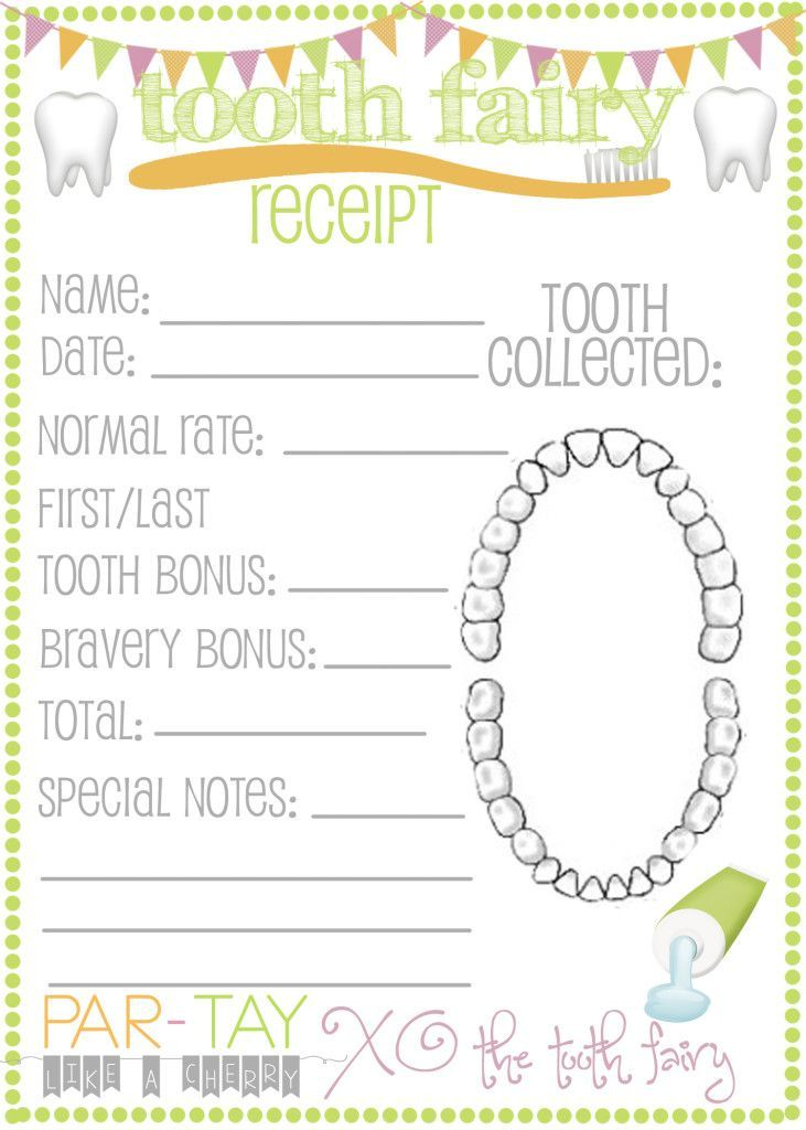 The 25+ best Tooth fairy receipt ideas on Pinterest Tooth fairy - free receipts