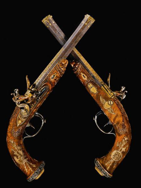 Jean Le Page antique guns .