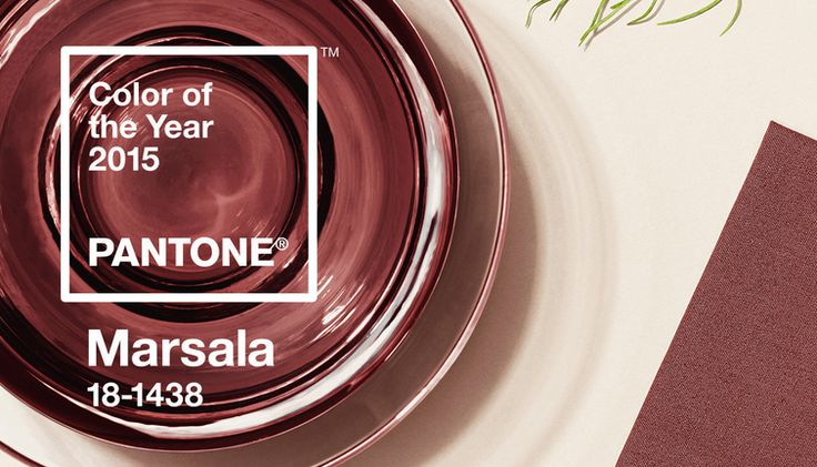 "This year's choice--the company's 15th annual color of the year--all about ""sophisticated, natural earthiness."" Or maybe just wine, which works too. 