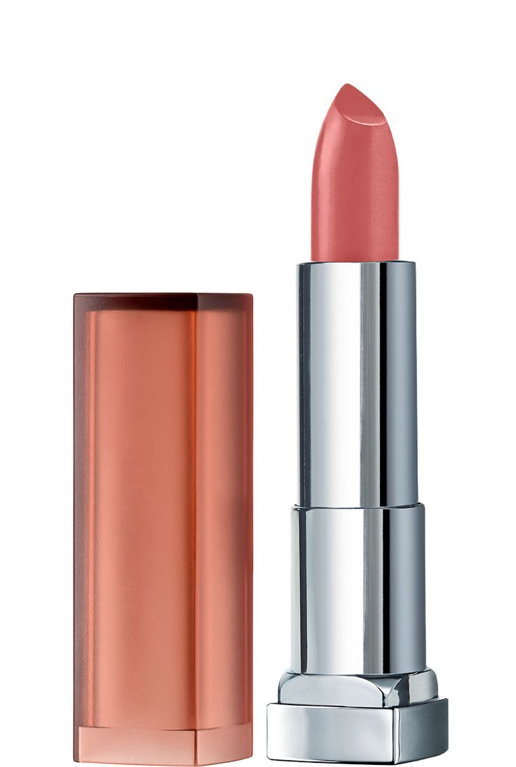 Color Sensational Inti-Matte Nudes Lipstick in Almond Rose by Maybelline. Enrich your natural lip color with creamy matte lipsticks in nude lip shades for every skin tone.