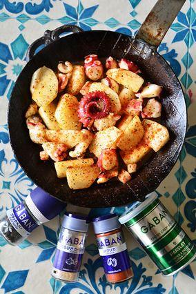 5分で!気分はスペインバル タコとかぶのパプリカ炒め #スパイス大使 #tapas #Tapas #Cocktail レシピブログ