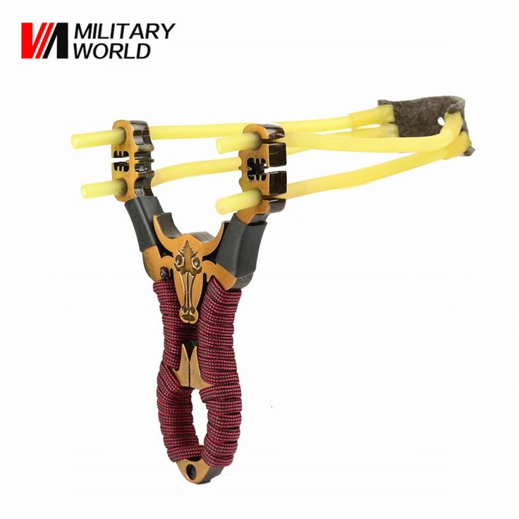 New Powerful Sport Slingshot Aluminium Alloy Slingshots Shooting Bow Catapult Outdoor Game Hunting Slingshot Accessories