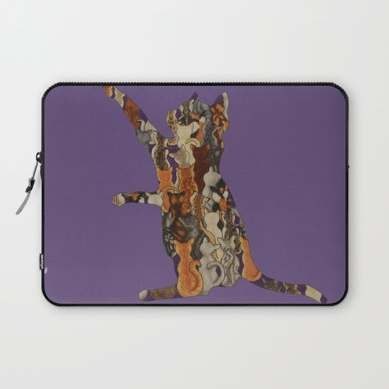 Load of Kitty's Laptop Sleeve by I Love the Quirky
