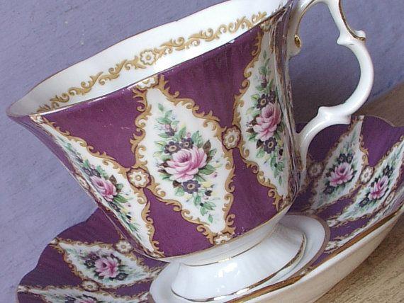 Vintage Royal Albert Royal Series teacup and by ShoponSherman
