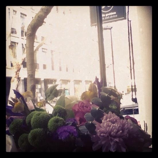 Buncth of flowers