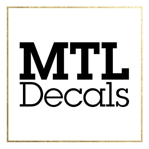 Browse unique items from mtldecals on Etsy, a global marketplace of handmade, vintage and creative goods.