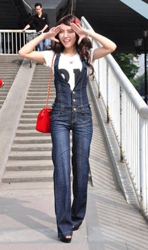 30 best images about Overalls Outfit Ideas on Pinterest | In fashion Denim on denim and Hunters
