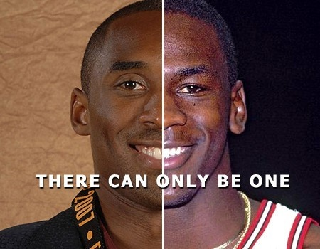 Kobe Bryant & Michael Jordan ldherrema