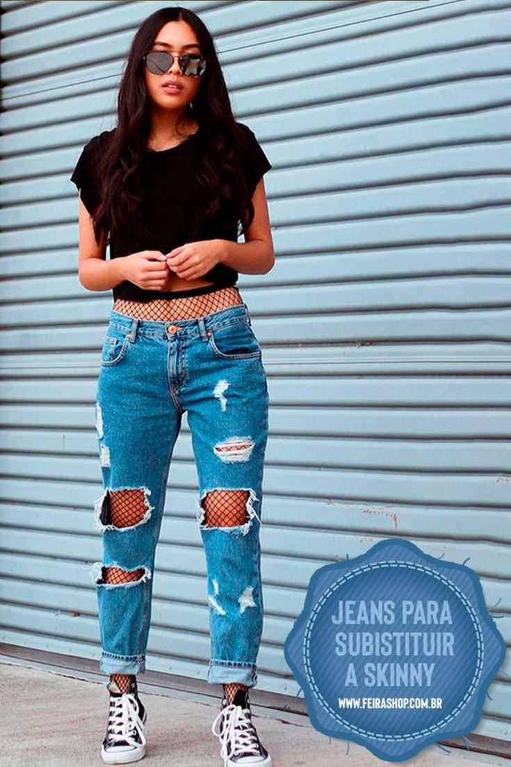 4 Modelos de jeans que vão fazer você largar a skinny