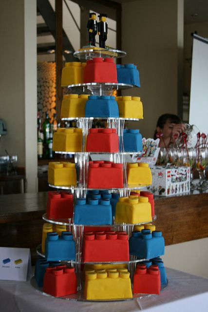 Most amazing lego cake. how cute would this be for a little boy's birthday?
