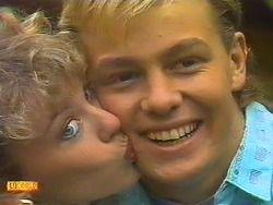 Scott Charlene Robinson Neighbours Honeymoon Jason Donovan Kylie Minogue 1987