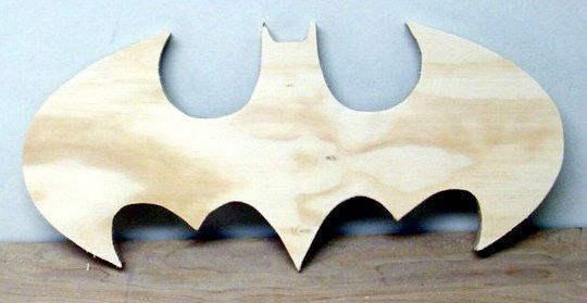 Batman Cutout * Batman wood logo * Kids room Decor * Home Decor * Wall Art by Woodfromtexas on Etsy
