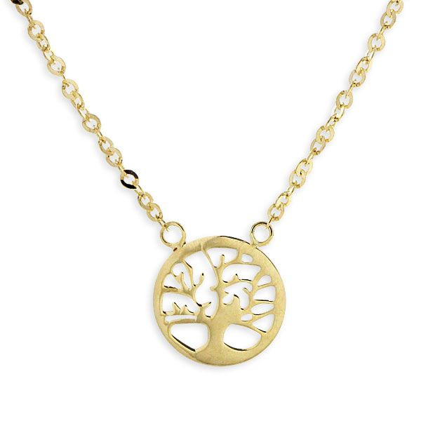 This pendant is not BARK-ing up the wrong tree.